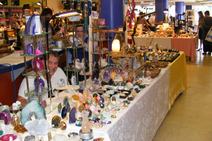 Rock Gem 'n' Bead Show at Chepstow Racecourse.